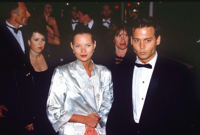 Johnny Depp est sorti avec la top Kate Moss !
