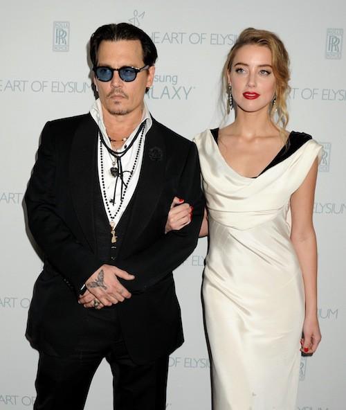 Photos : Johnny Depp et Amber Heard : ils réapparaissent enfin, soudés et complices !