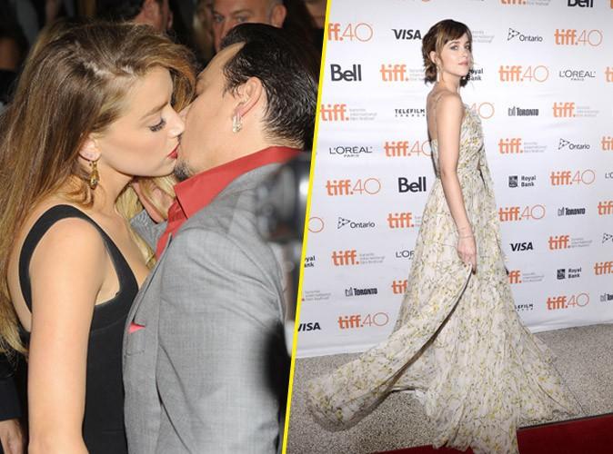 Photos : Johnny Depp et Amber Heard passionnés, Dakota Johnson fraîche à souhait !
