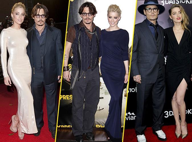 Photos : Johnny Depp et Amber Heard : retour sur un couple inattendu !