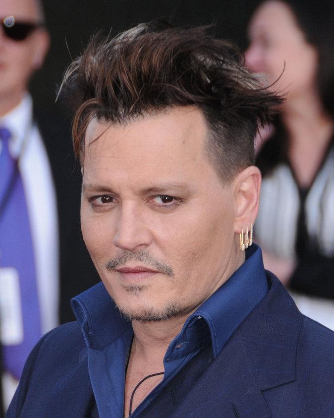 """Johnny Depp à l'Avant-Première du film """"Alice de l'autre côté du miroir"""""""