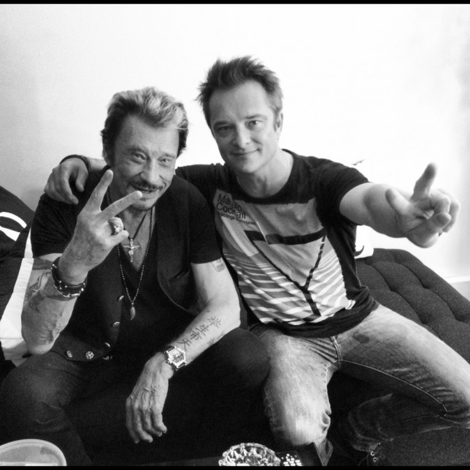 Johnny et son fils David