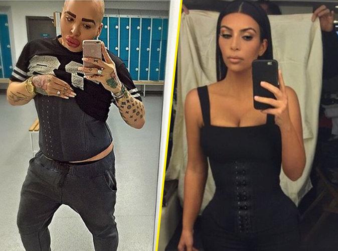 Photos : Jordan James adopte le corset comme son idole, Kim Kardashian !