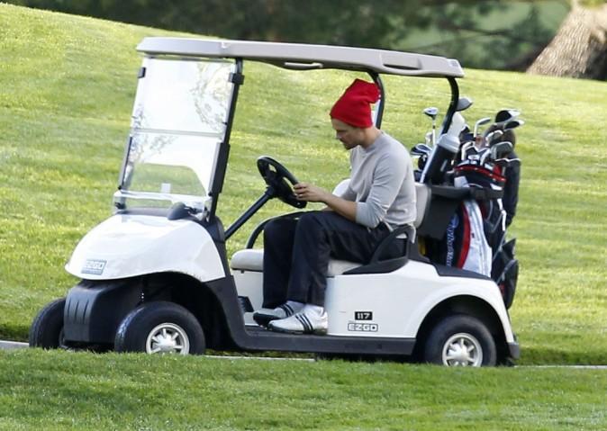 Josh Duhamel s'offre une petite partie de golf à Los Angeles
