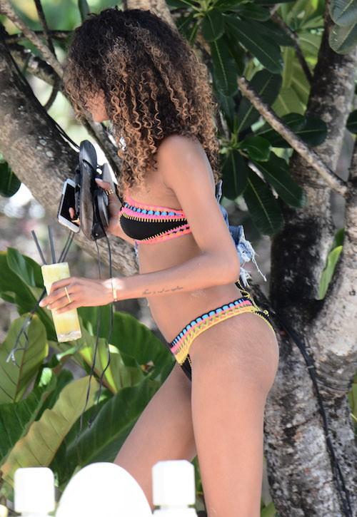 Photos : Jourdan Dunn : une bombe au naturel à la Barbade !