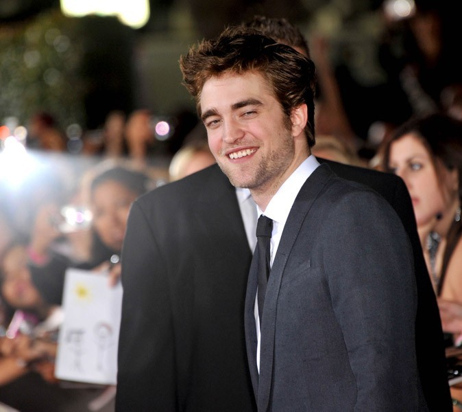 Photos : Robert Pattinson en 2009 à la première de Twilight : new moon à L.A