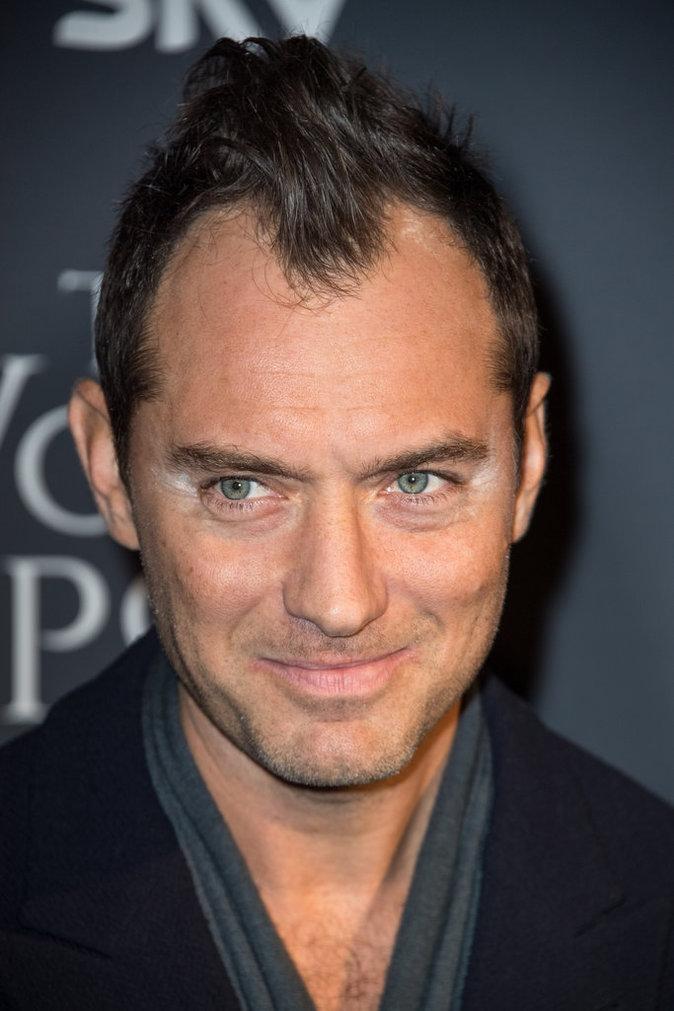 Photos : Jude Law : découvrez son fail make-up !