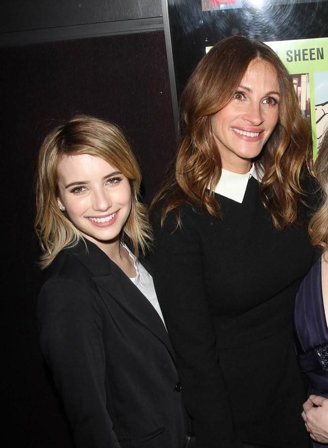 Emma Roberts et sa tante Julia Roberts