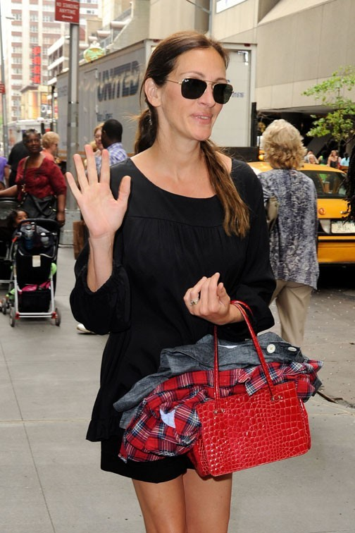 Julia Roberts à New-York le 26 juin 2013