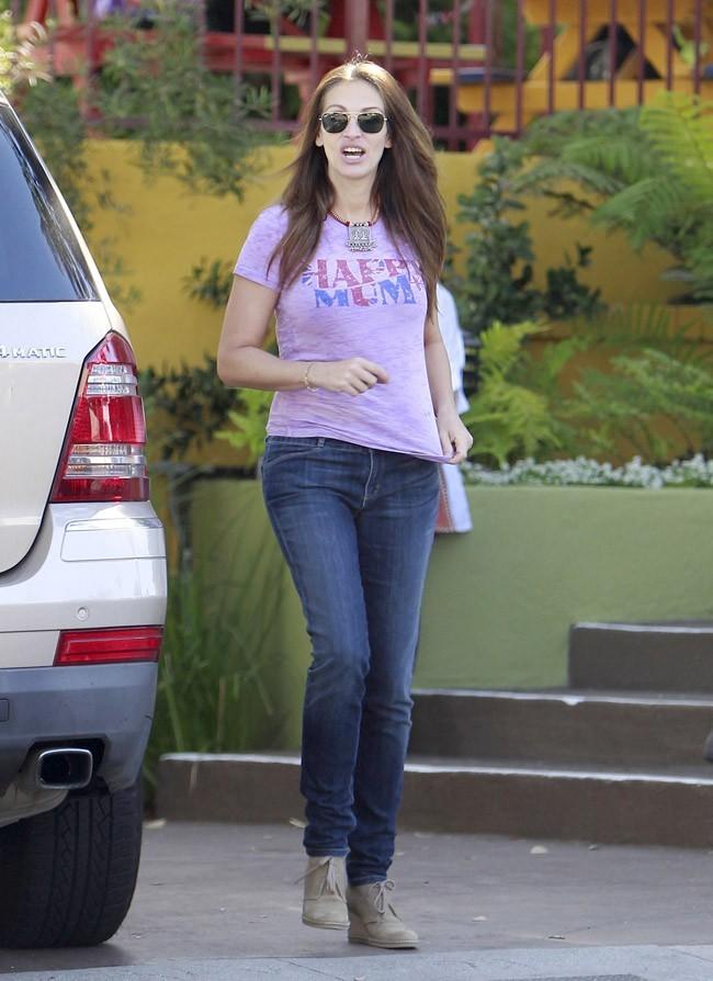 Julia Roberts le 13 septembre 2012 à Pacific Palisades