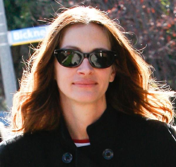 Julia Roberts le 16 février 2013 à Los Angeles