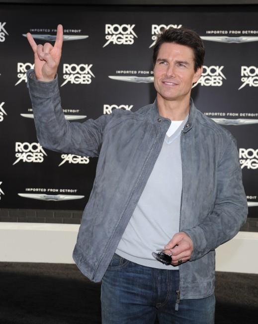 Tom Cruise lors de la première du film Rock of Ages à Los Angeles, le 8 juin 2012.