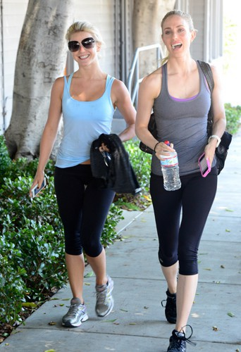 Julianne Hough à West Hollywood le 7 août 2013