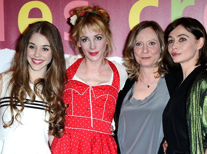 Alice Isaaz, Julie Depardieu, Cécile Telerman et Emmanuelle Béart à Paris le 31 mars 2014