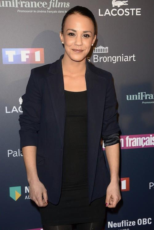 Alice Belaïdi aux Trophées du Film Français à Paris, le 12 février 2015