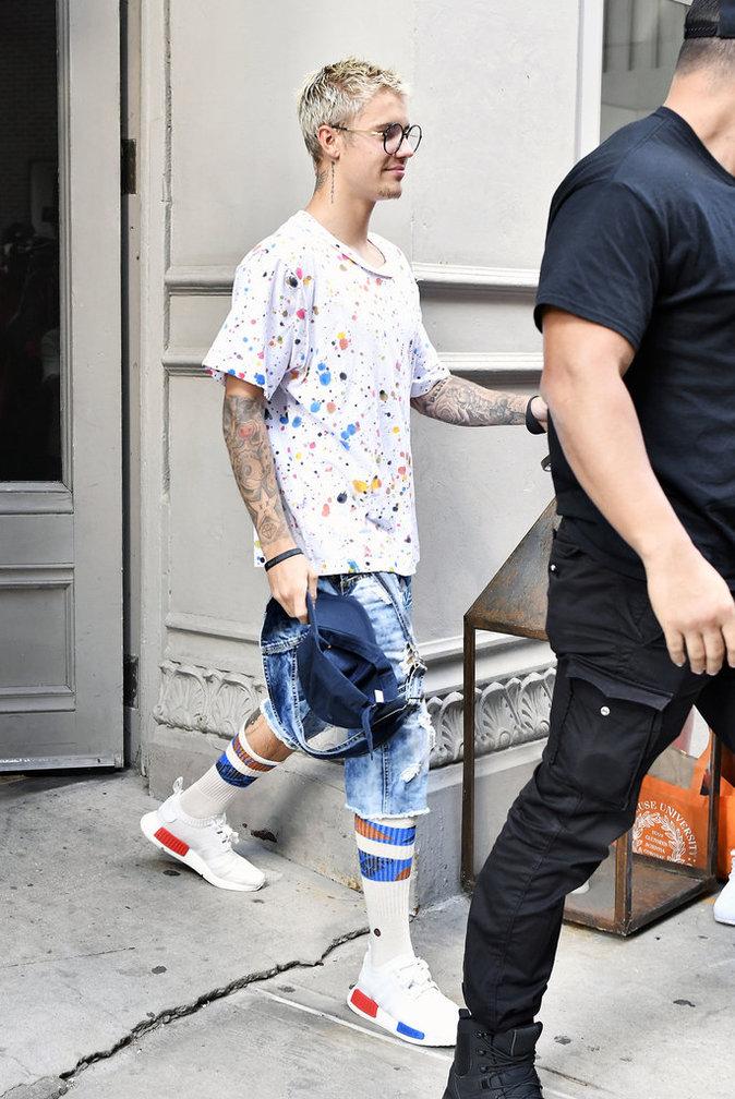 Justin Bieber le 19 juillet à New York