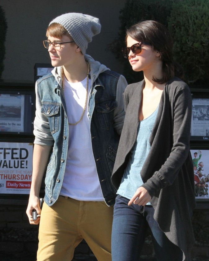 Selena et Justin font face à la tempête !