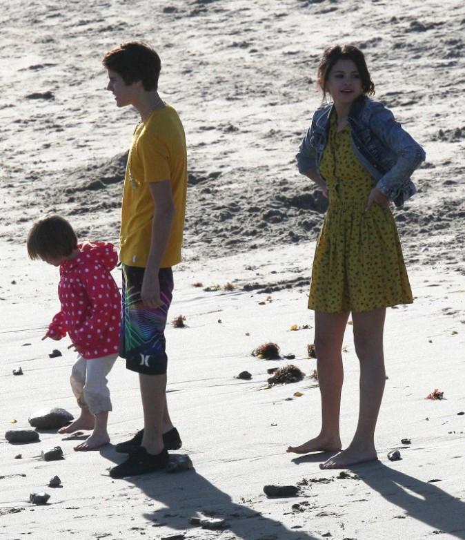 En famille à Malibu, le 17 février 2012