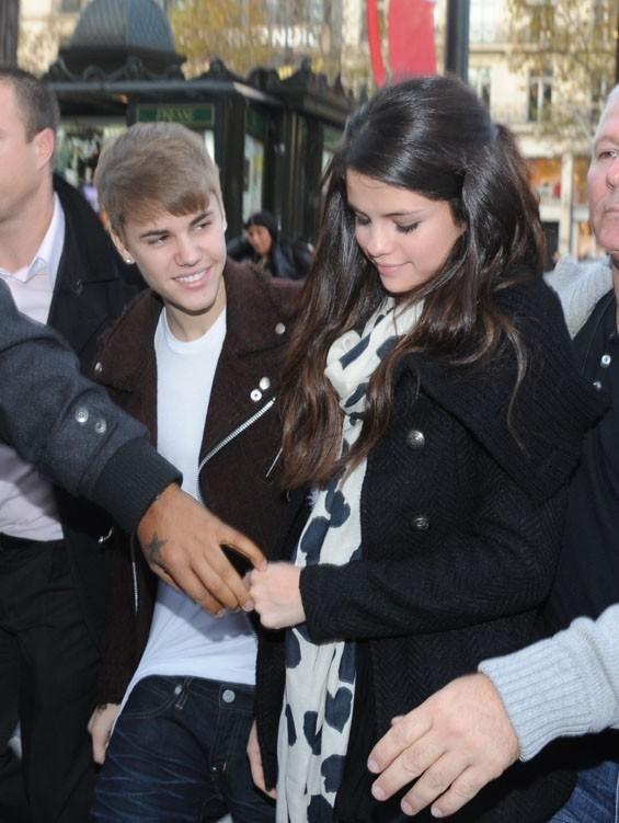 Justin Bieber s'est montré très attentif...
