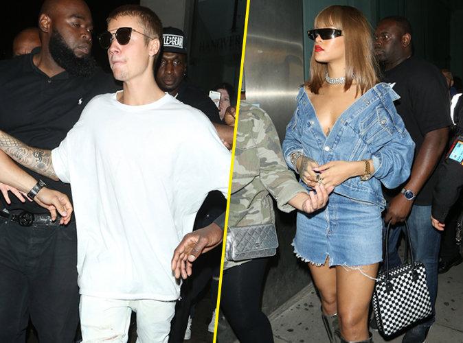 Photos : Justin Bieber grillé avec une autre que Sofia Richie, Rihanna témoin !