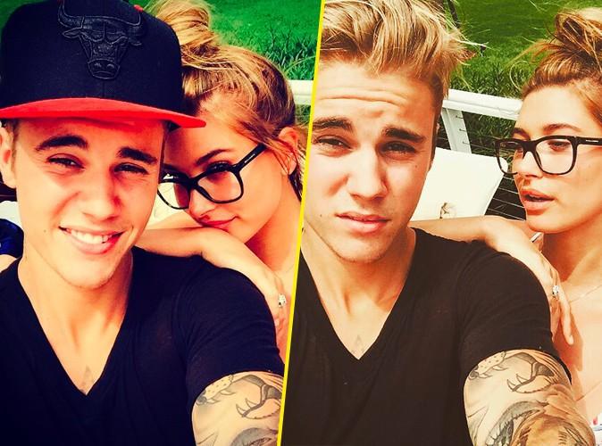 Justin Bieber et Hailey Baldwin le 14 juin 2015