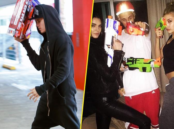 Justin Bieber : il fait le plein de jouets pour s'amuser avec Kendall Jenner et Hailey Baldwin !