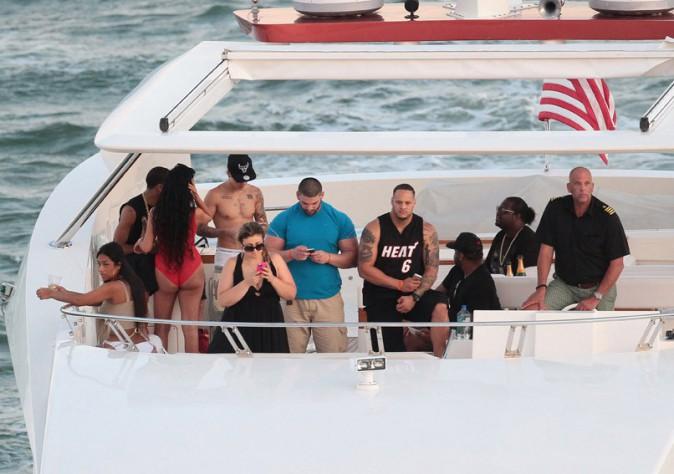 Justin Bieber à Miami le 3 juillet 2014