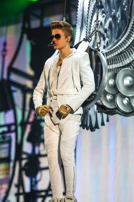 Justin Bieber le 20 janvier 2013 à Greensboro, en Caroline du Nord