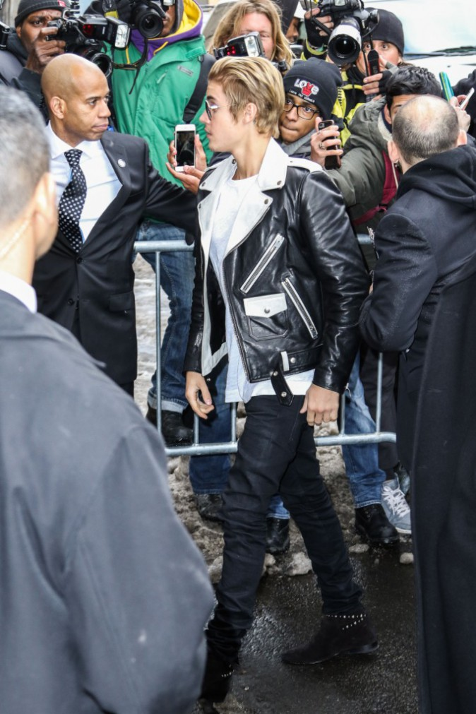 Justin Bieber le 12 février 2015