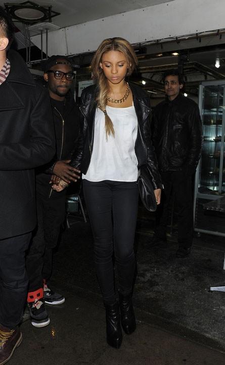 Ella-Paige Roberts Clark, la girlfriend de Justin Bieber, à Londres, le 28 février 2013
