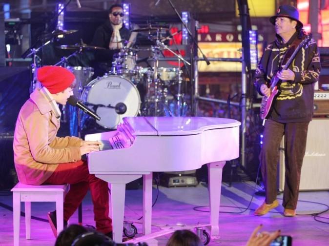 Avec Carlos Santana, le top du top !