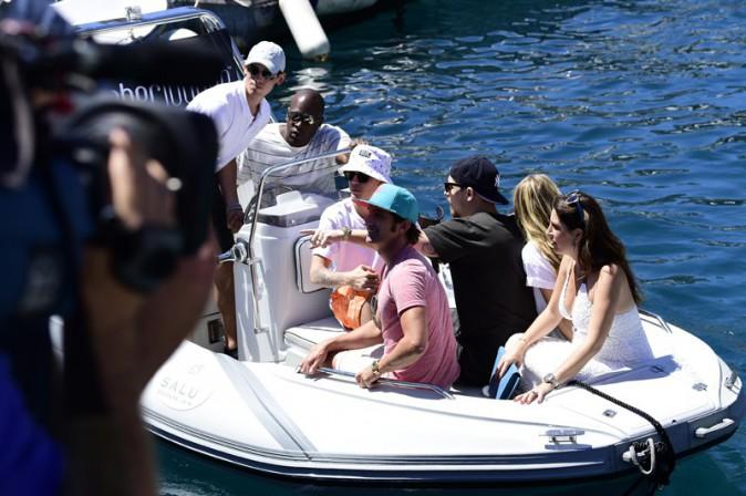 Justin Bieber à Monaco le 24 mai 2014