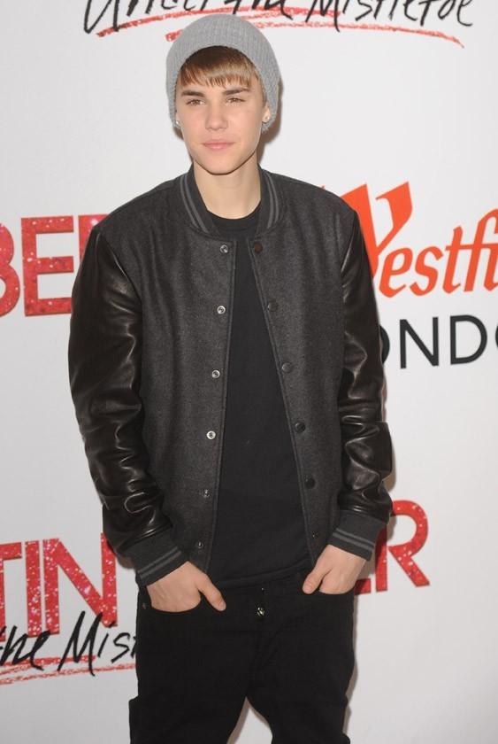 Justin Bieber hier à Londres !