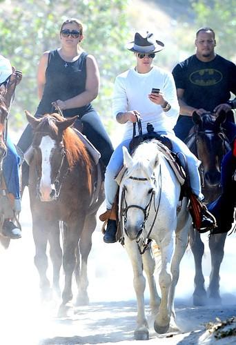 Justin Bieber à Los Angeles le 12 mai 2014