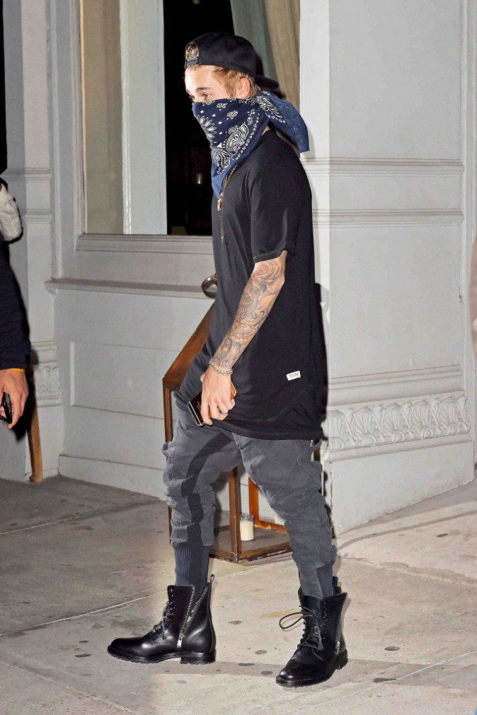 """Justin Bieber : un """"gangsta"""" qui prend le temps d'aller au spa !"""