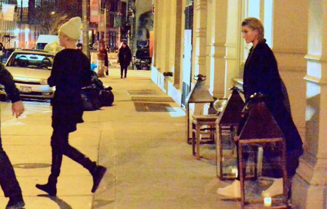Justin Bieber et Hailey Baldwin le 26 décembre 2014