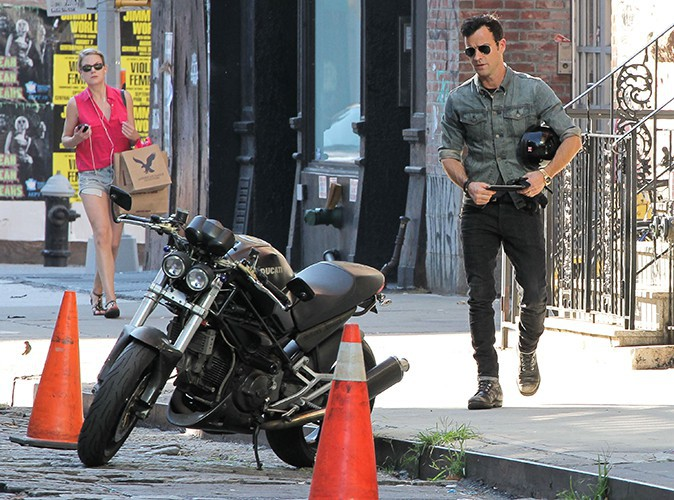 Justin Theroux à New-York le 29 juillet 2013