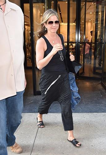 Jennifer Aniston à New York le 24 juin 2014