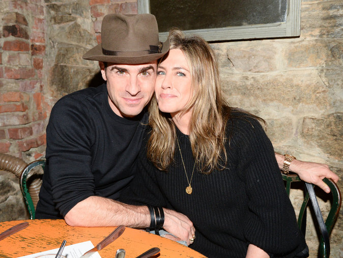 Photos : Justin Theroux, Jennifer Aniston plus amoureux que jamais