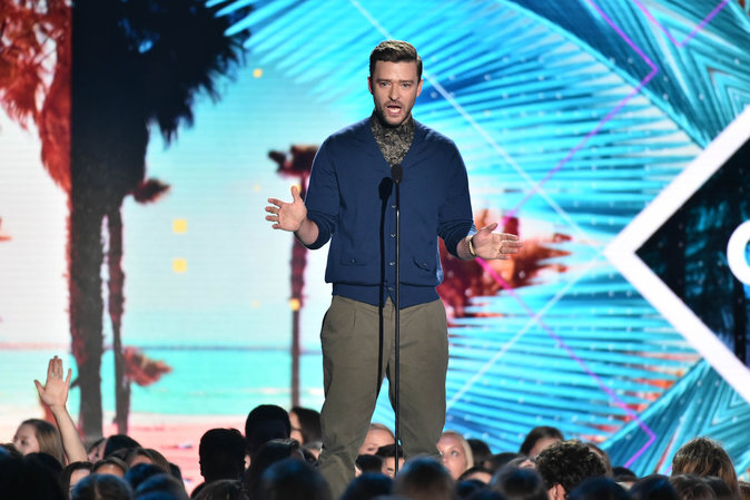 Justin Timberlake a été récompensé