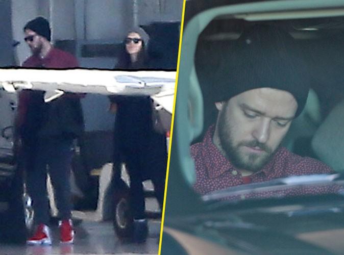 Justin Timberlake : compl�tement �puis� par ses vacances en famille ?
