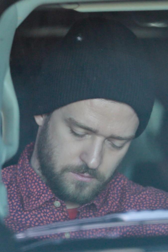 Justin Timberlake le 28 décembre 2014