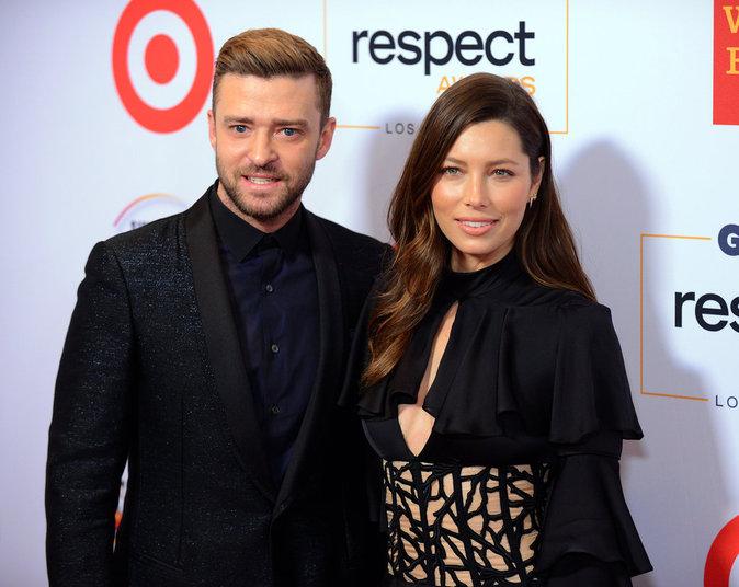 Photos : Justin Timberlake et Jessica Biel : couple honoré et toujours au top sur le red carpet !