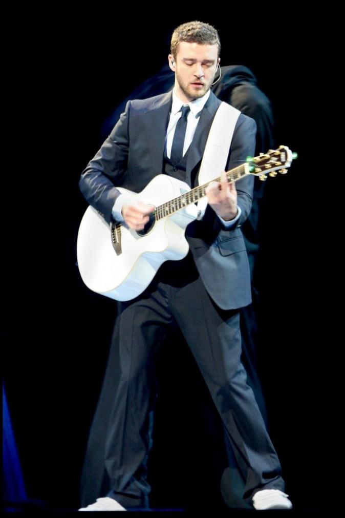 Justin Timberlake en concert à Paris Bercy, le 22 mai 2007.