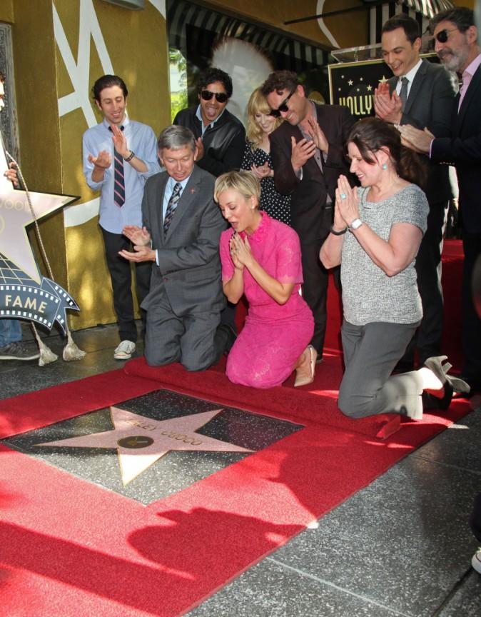 Photos : Kaley Cuoco : elle vient d'atteindre la consécration en tant que star !