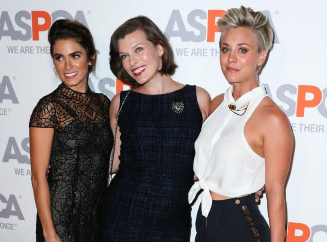 Kaley Cuoco et Nikki Reed réunies autour d'une Milla Jovovich enceinte pour défendre les animaux
