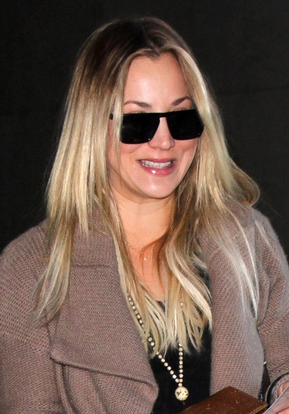 Kaley Cuoco à Los Angeles, le 27 novembre 2013.