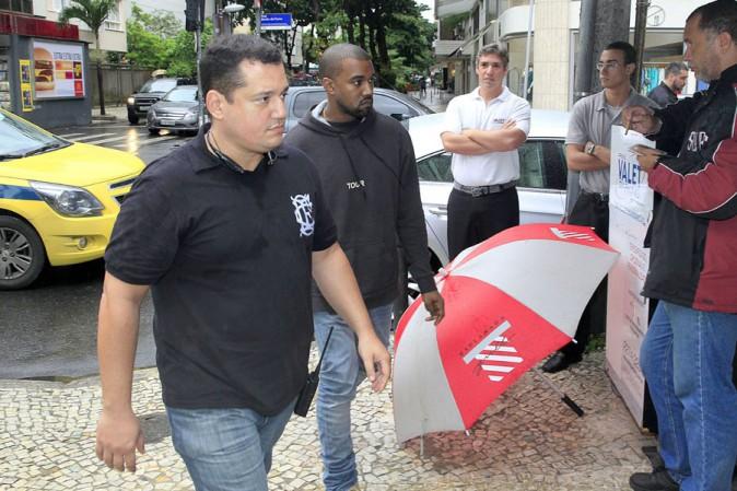 Kanye West à Rio de Janeiro le 8 mars 2014