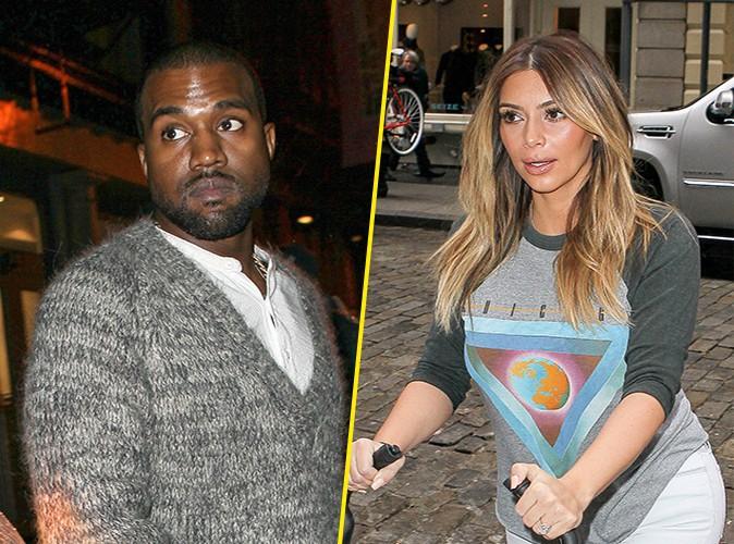 Kanye West et Kim Kardashian à New-York le 26 novembre 2013