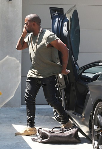 Kanye West à Los Angeles le 22 juin 2014